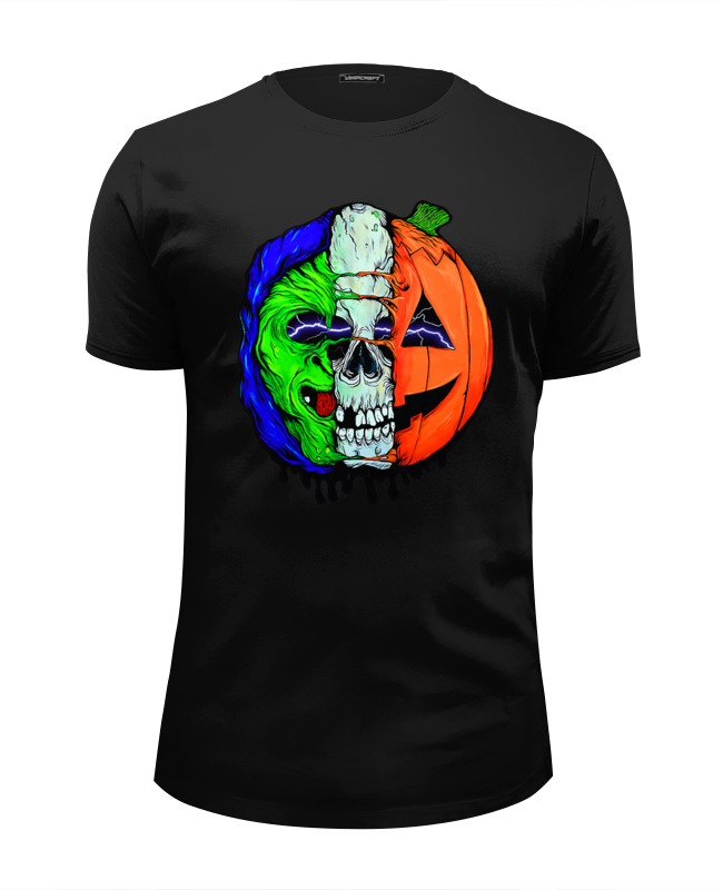 Футболка Wearcraft Premium Slim Fit Printio The horrors of halloween ozcan светодиодный led светильник ozcan аква 6110 5as led