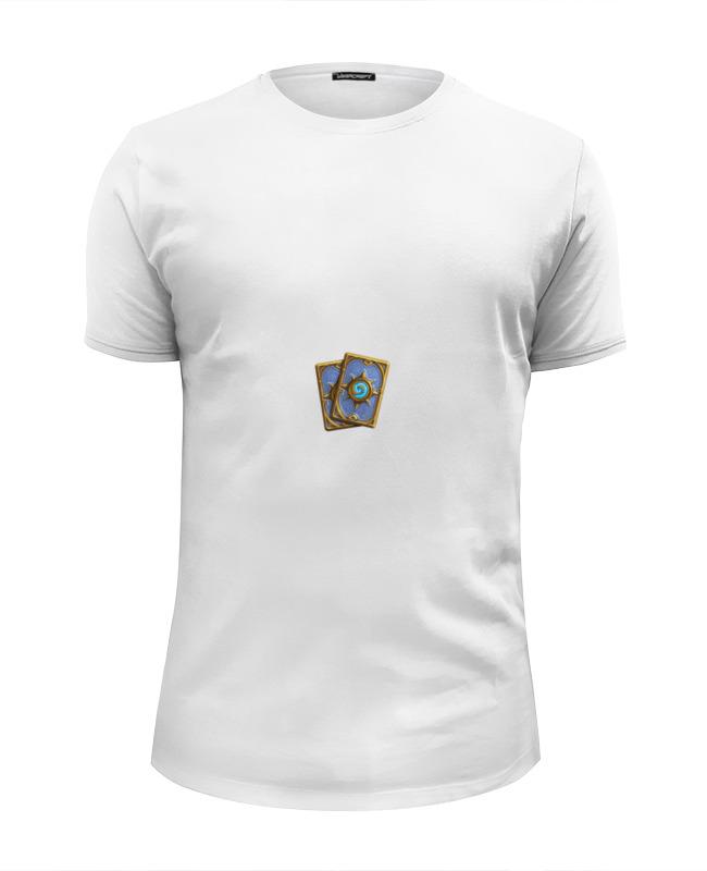 Футболка Wearcraft Premium Slim Fit Printio Карты хартстоун футболка wearcraft premium printio игральные карты