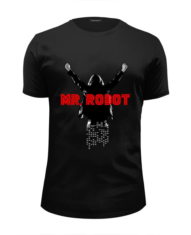 Футболка Wearcraft Premium Slim Fit Printio Мистер робот футболка wearcraft premium slim fit printio gibson usa