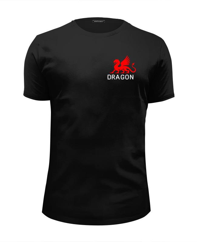 Футболка Wearcraft Premium Slim Fit Printio Красный дракон футболка wearcraft premium slim fit printio дух дракона