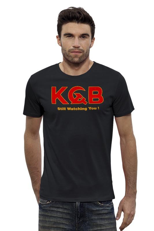 Футболка Wearcraft Premium Slim Fit Printio Kgb russia футболка wearcraft premium slim fit printio россия russia