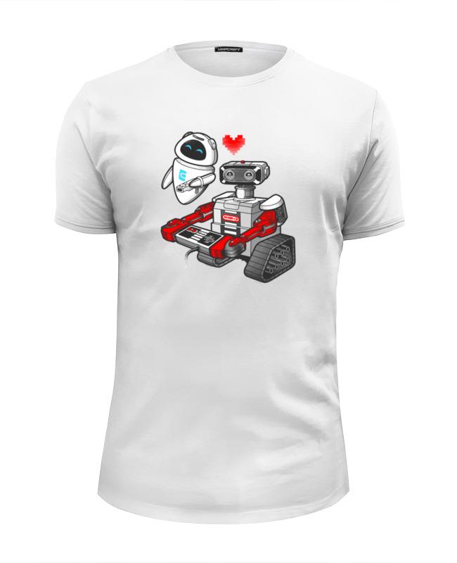 Футболка Wearcraft Premium Slim Fit Printio Валл-и