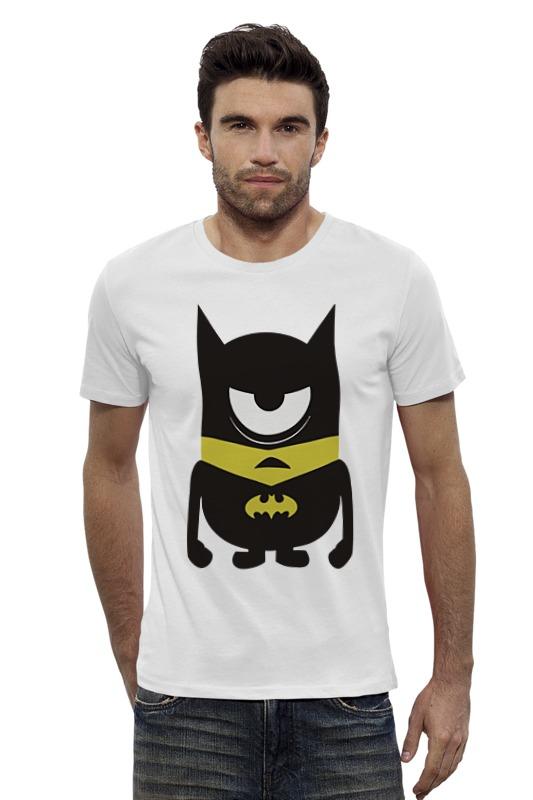 Футболка Wearcraft Premium Slim Fit Printio Minion batman футболка wearcraft premium printio minion batman