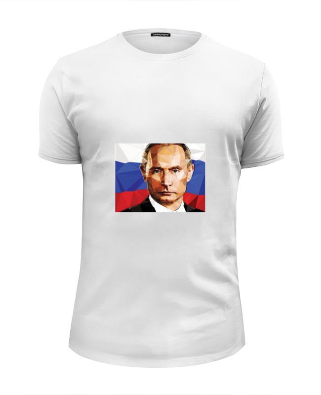 Футболка Wearcraft Premium Slim Fit Printio Для патриотов росcии