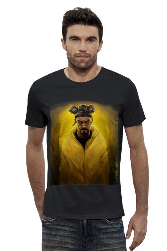 Футболка Wearcraft Premium Slim Fit Printio Breaking bad heisenberg art футболка wearcraft premium slim fit printio psy art arsb