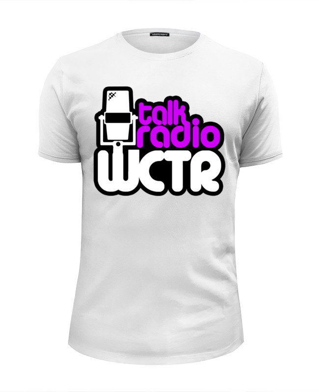 Футболка Wearcraft Premium Slim Fit Printio Wctr talk radio футболка wearcraft premium slim fit printio k jah west radio
