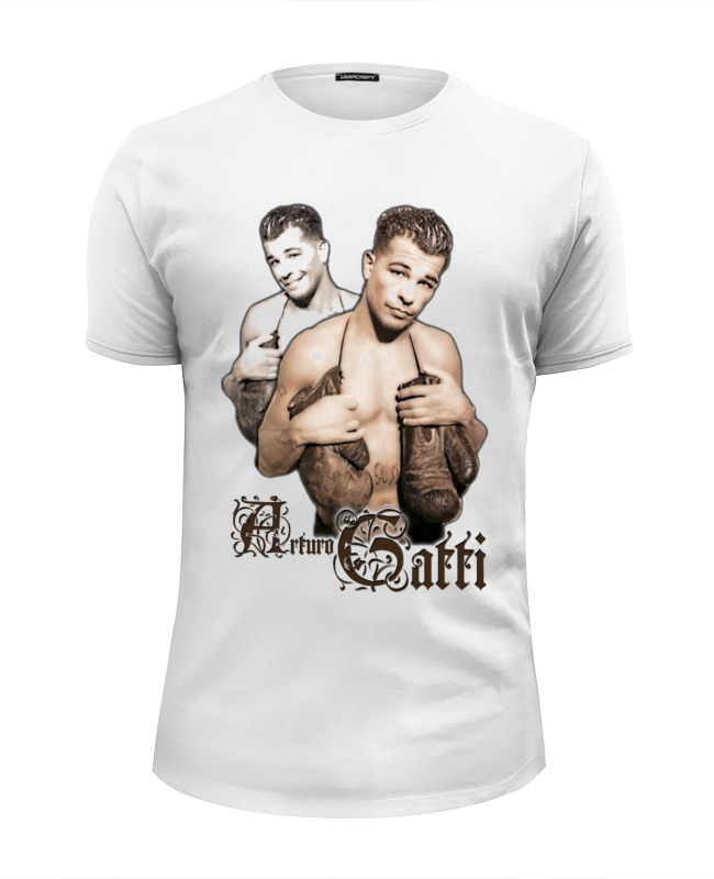 Футболка Wearcraft Premium Slim Fit Printio Arturo gatti