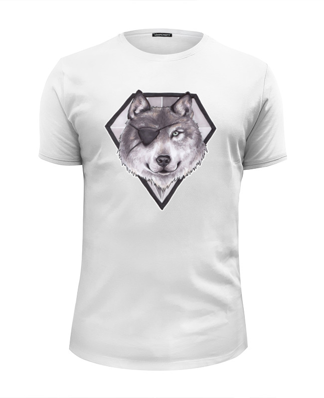 Printio Diamond dog футболка wearcraft premium slim fit printio roar dog