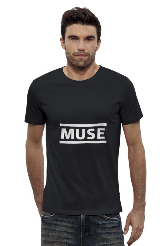 Футболка Wearcraft Premium Slim Fit Printio Muse! футболка стрэйч printio muse