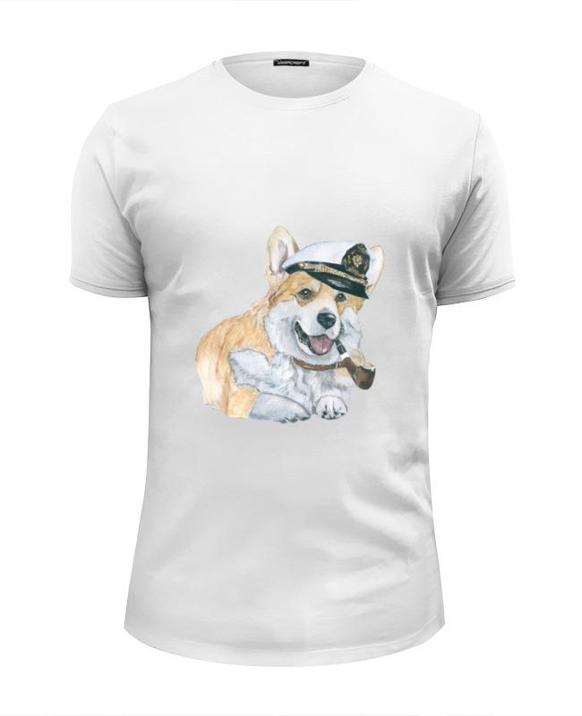 Футболка Wearcraft Premium Slim Fit Printio Моя любимая собака