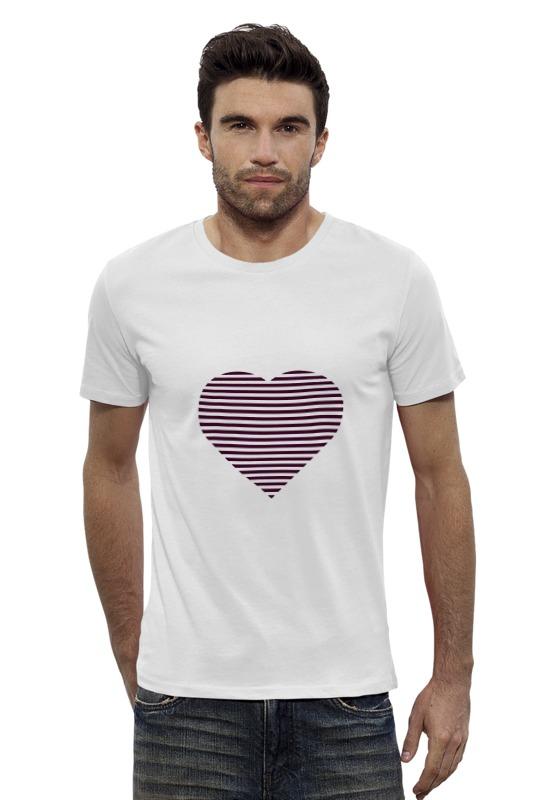 Футболка Wearcraft Premium Slim Fit Printio Сердце