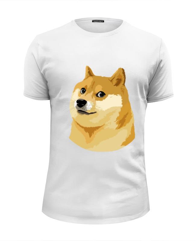 Футболка Wearcraft Premium Slim Fit Printio Doge doge