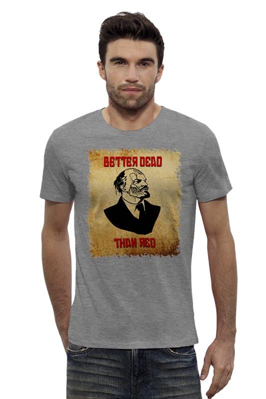Футболка Wearcraft Premium Slim Fit Printio Lenin russian zombie boss футболка wearcraft premium slim fit printio sans boss