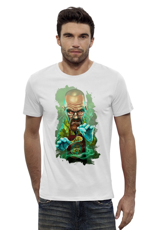 Футболка Wearcraft Premium Slim Fit Printio Во все тяжкие (breaking bad) футболка wearcraft premium slim fit printio god of meth breaking bad