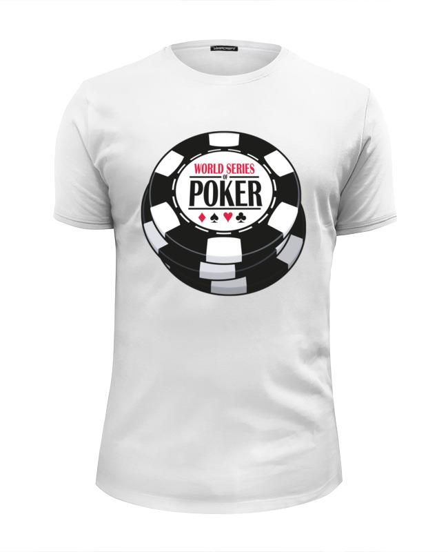 Футболка Wearcraft Premium Slim Fit Printio Покер (poker) poker gold bee poker wool gift set gold bee poker gift box