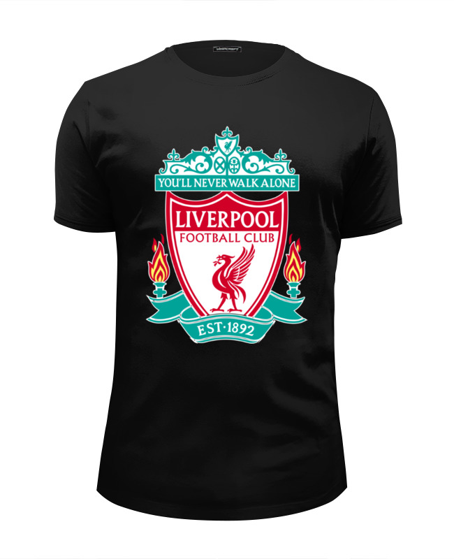 Футболка Wearcraft Premium Slim Fit Printio Liverpool (ливерпуль) лонгслив printio liverpool ливерпуль