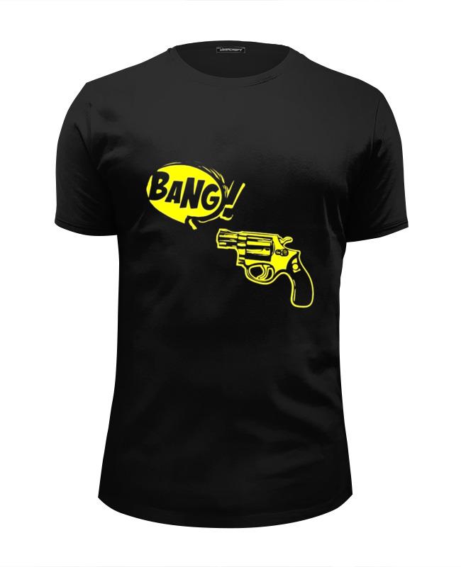 Футболка Wearcraft Premium Slim Fit Printio Bang! футболка wearcraft premium slim fit printio рука пистолет bang