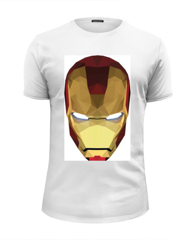 Футболка Wearcraft Premium Slim Fit Printio Железный человек футболка wearcraft premium printio баймакс железный человек