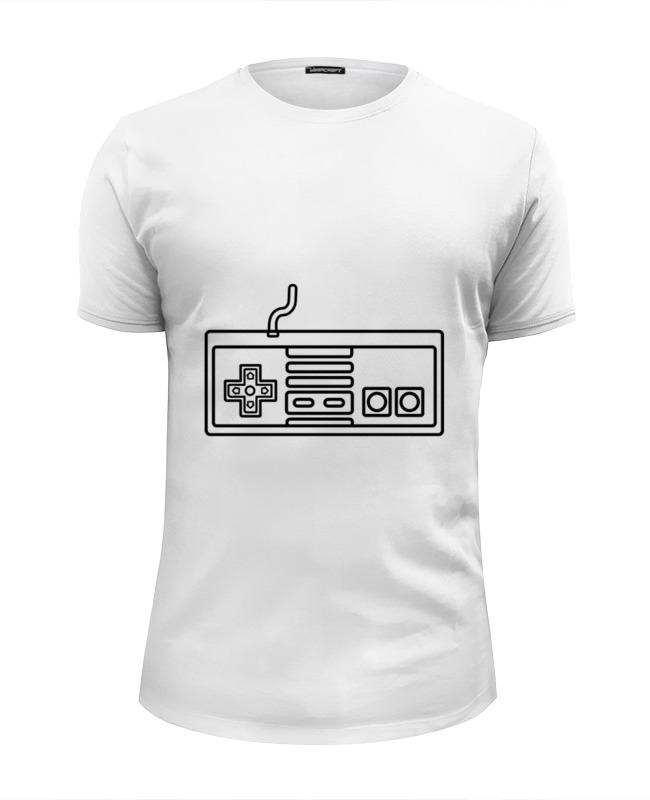 Футболка Wearcraft Premium Slim Fit Printio Джойстик 8 бит