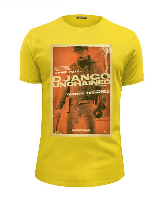 Футболка Wearcraft Premium Slim Fit Printio Django unchained - jame foxx футболка классическая printio django unchained di caprio