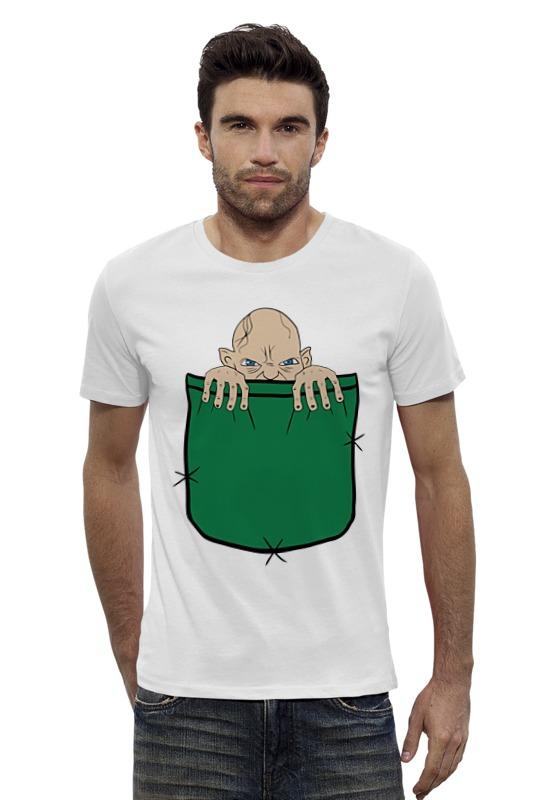 Футболка Wearcraft Premium Slim Fit Printio Голлум (властелин колец) футболка для беременных printio властелин колец