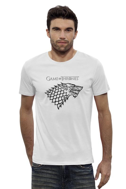 Футболка Wearcraft Premium Slim Fit Printio Game of thrones: stark футболка wearcraft premium slim fit printio elements of harmony