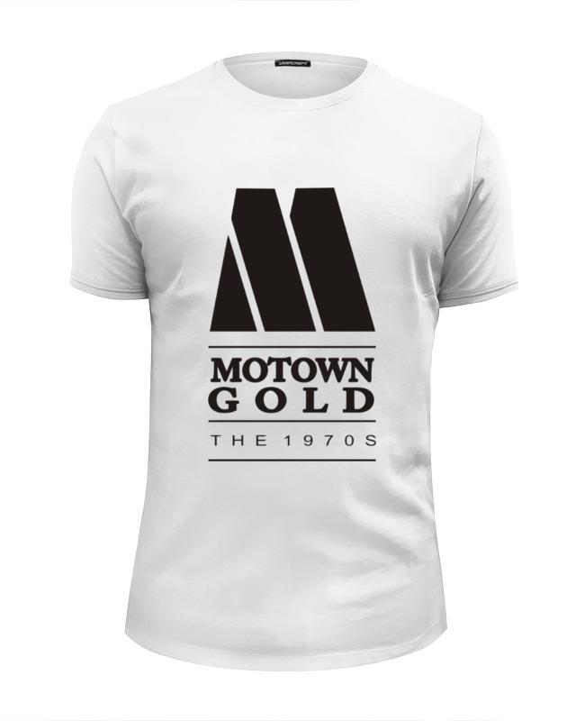 Футболка Wearcraft Premium Slim Fit Printio Motown