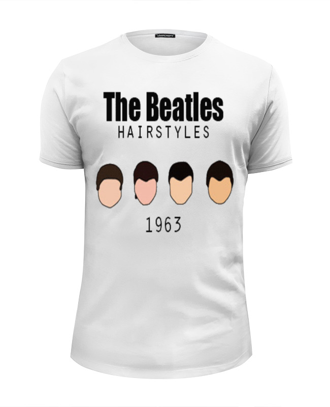 Футболка Wearcraft Premium Slim Fit Printio The beatles 1963 the weavers the weavers reunion at carnegie hall 1963 lp