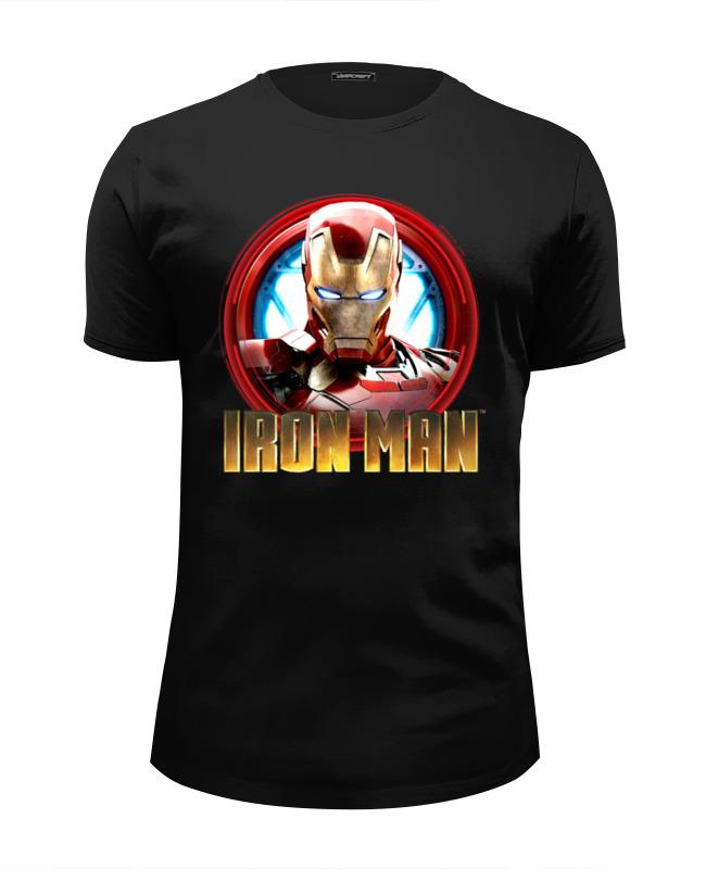 Футболка Wearcraft Premium Slim Fit Printio Iron man футболка wearcraft premium slim fit printio spider man