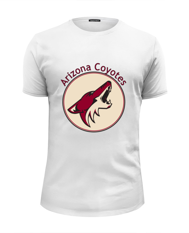 Футболка Wearcraft Premium Slim Fit Printio Arizona coyotes orly гель лак 162 moonlit madness gel fx 9мл
