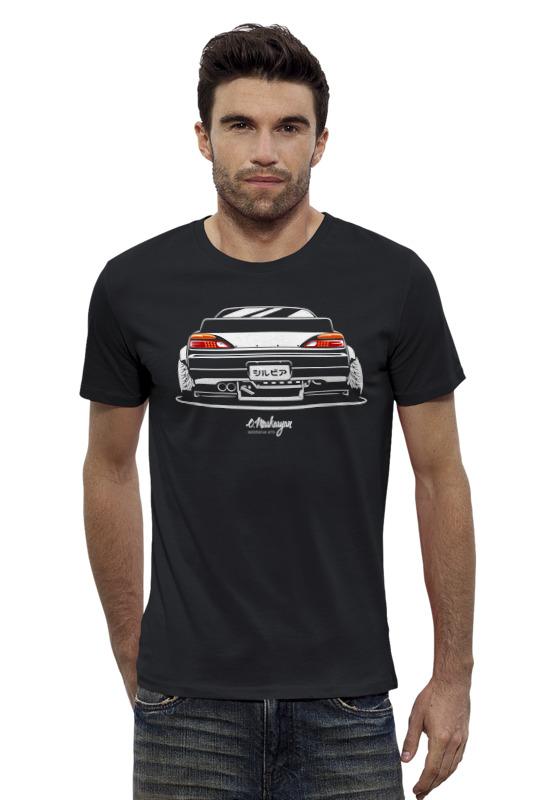 Футболка Wearcraft Premium Slim Fit Printio Nissan silvia футболка wearcraft premium slim fit printio nissan gtr r35
