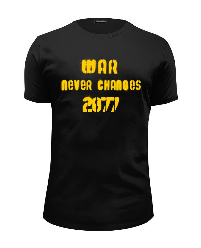 Футболка Wearcraft Premium Slim Fit Printio Война никогда не меняется. футболка wearcraft premium printio отечественная война