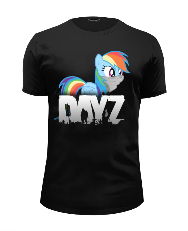 Футболка Wearcraft Premium Slim Fit Printio Day z my little pony