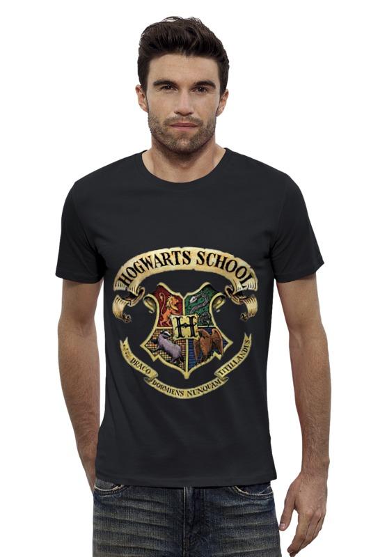 Футболка Wearcraft Premium Slim Fit Printio Хогвартс футболка wearcraft premium slim fit printio кит ричардс