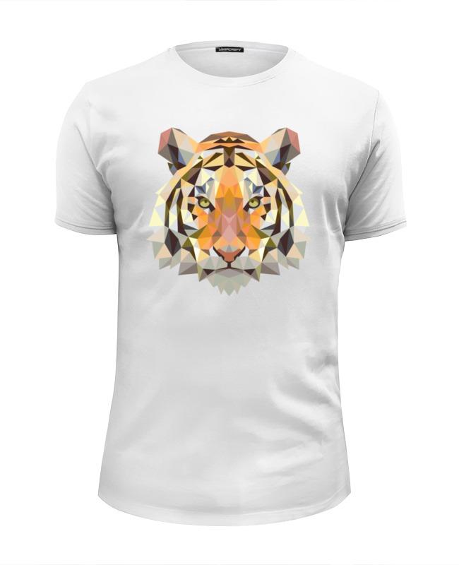Printio Полигональный тигр футболка wearcraft premium slim fit printio полигональный лев