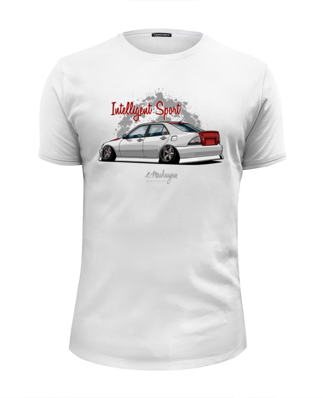 Футболка Wearcraft Premium Slim Fit Printio Lexus is / altezza