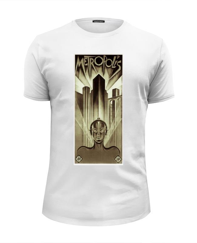Футболка Wearcraft Premium Slim Fit Printio Афиша к фильму «метрополис», 1927 год футболка wearcraft premium slim fit printio афиша к фильму добро пожаловать 1964 г