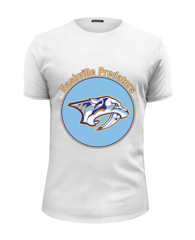 Футболка Wearcraft Premium Slim Fit Printio Nashville predators