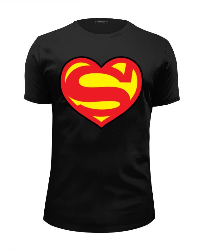 Футболка Wearcraft Premium Slim Fit Printio Я люблю супермена футболка wearcraft premium slim fit printio люблю науку