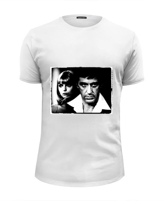 Printio Лицо со шрамом футболка wearcraft premium slim fit printio тони монтана лицо со шрамом