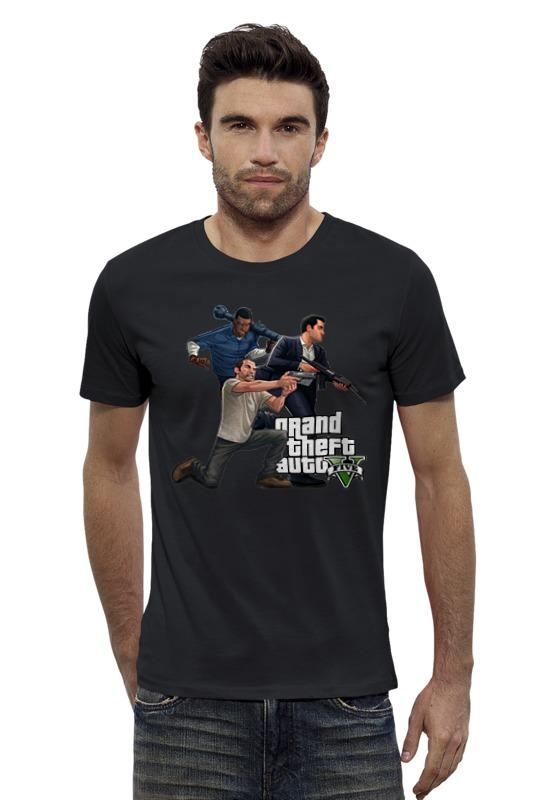 Футболка Wearcraft Premium Slim Fit Printio Гта. футболка wearcraft premium slim fit printio avengers