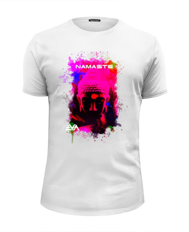 Футболка Wearcraft Premium Slim Fit Printio Арт будда футболка wearcraft premium slim fit printio будда