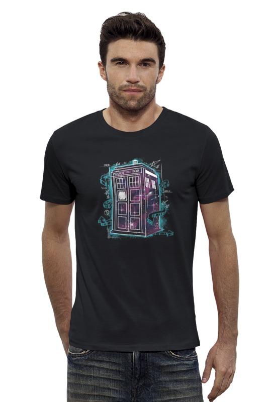 Футболка Wearcraft Premium Slim Fit Printio Тардис футболка wearcraft premium printio новогодний тардис