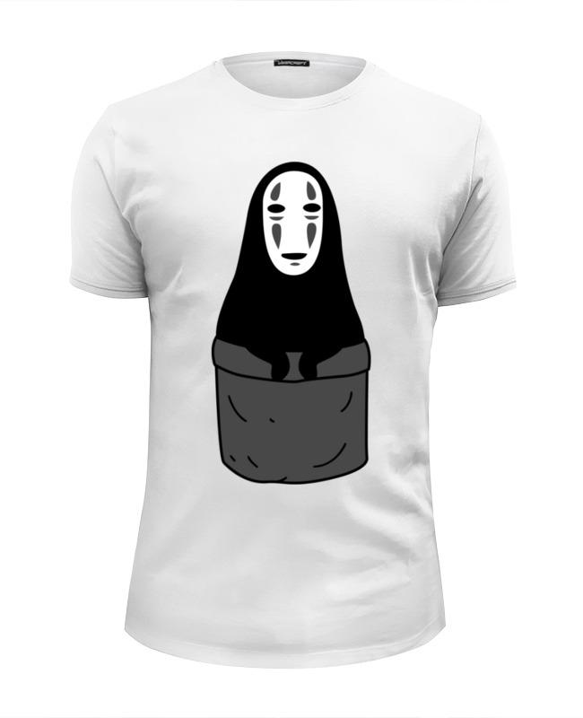 Футболка Wearcraft Premium Slim Fit Printio Без лица (унесенные призраками)