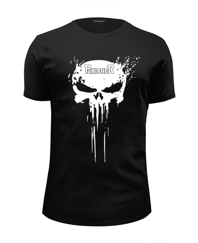 Printio The punisher футболка wearcraft premium slim fit printio forget the lab safety