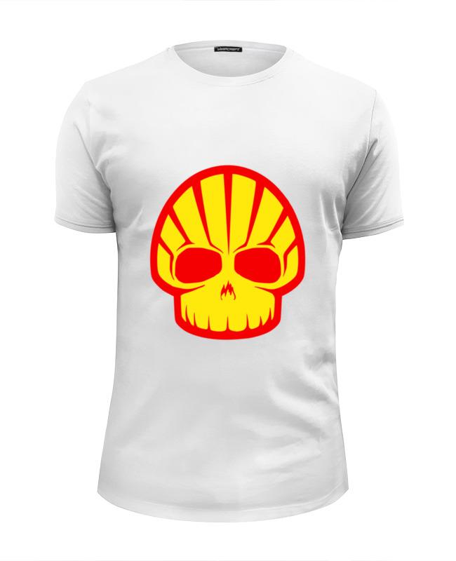 Футболка Wearcraft Premium Slim Fit Printio Shell skull футболка wearcraft premium slim fit printio skull man