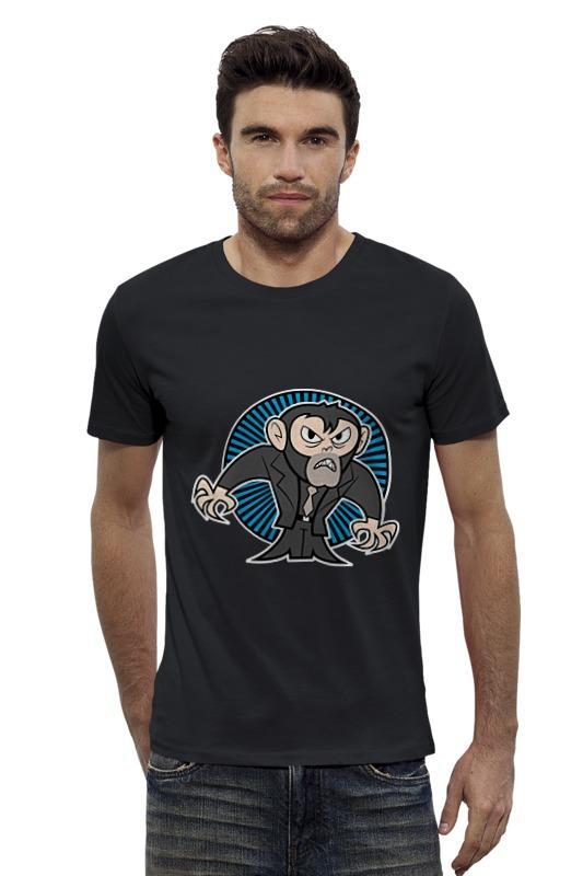 Футболка Wearcraft Premium Slim Fit Printio Обезьяна футболка wearcraft premium slim fit printio avengers