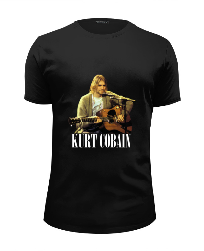 Футболка Wearcraft Premium Slim Fit Printio Nirvana kurt cobain guitar t-shirt футболка wearcraft premium slim fit printio nirvana incesticide album t shirt