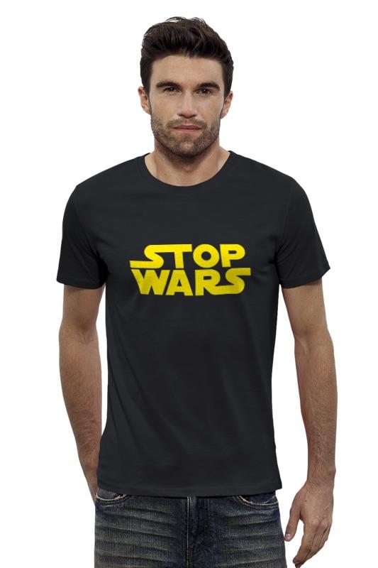 Футболка Wearcraft Premium Slim Fit Printio Stop wars футболка wearcraft premium printio stop wars украина