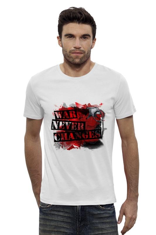 Футболка Wearcraft Premium Slim Fit Printio Война никогда не меняется футболка wearcraft premium printio война никогда не меняется